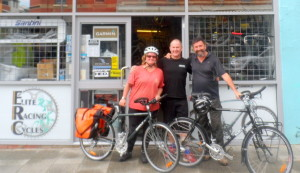 Picking Up Our Surly Long Haul Truckers - Cycling Across Australia