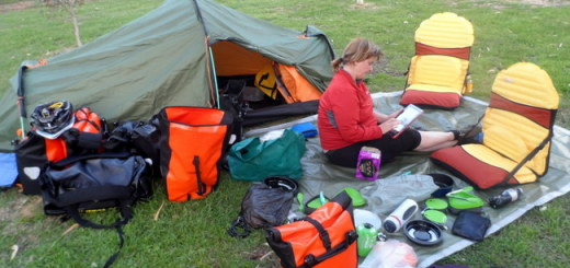 camping equipment featured image