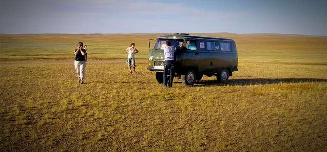 Russian 4wd - Gobi Desert, Mongolia
