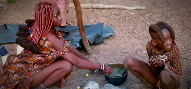 Himba People - Northern Namibia - Trans Africa