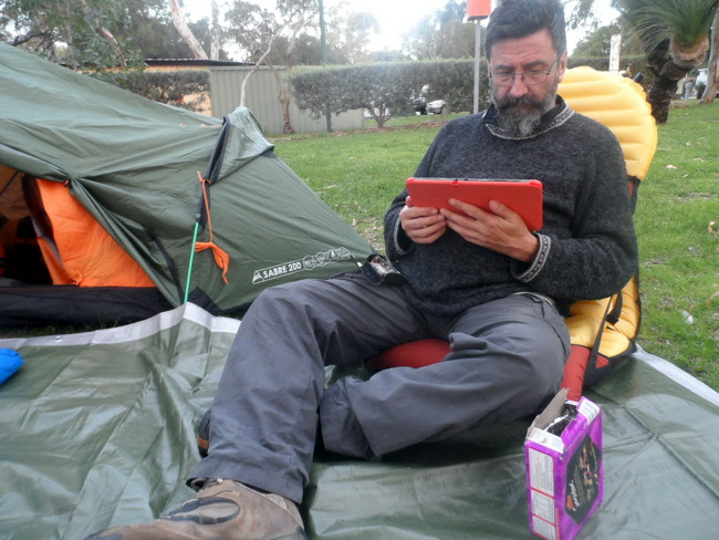 Researching on the Samsung Galaxy Note - Cycling Across Australia