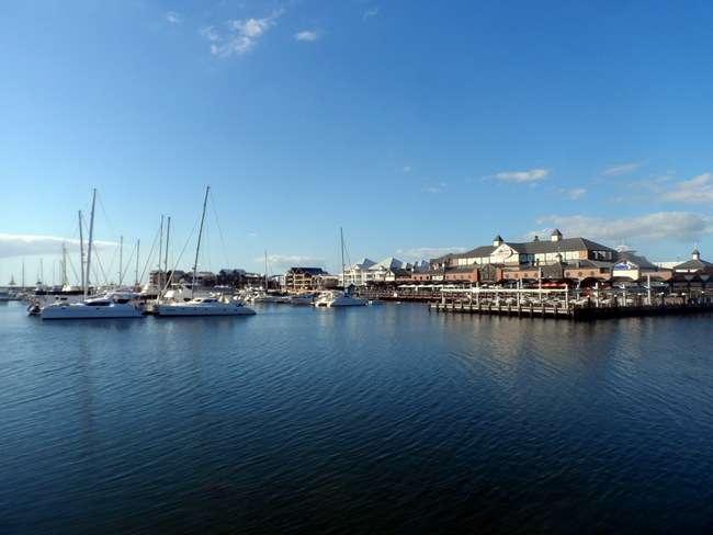 Marina at Mandurah, Western Australia - Cycling Across Australia