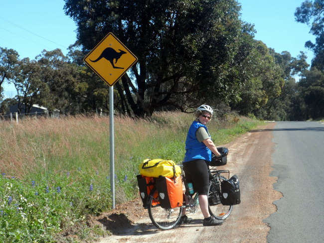 Finally some sunshine, Busselton, Western Australia- Cycling Across Australia
