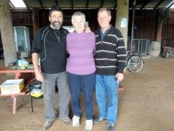 Doug and Lesley - Our Saviours, Cowaranarup, Western Australia - cycling Across Australia