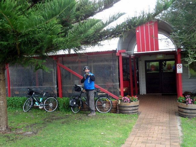 Red Door Winery, Margaret River, Western Australia - Cycling Across Australia