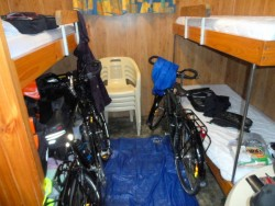 Taking Over the Cabin, Pemberton, Western Australia - Cycling Across Australia