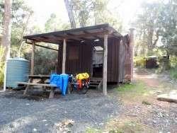Cabin at Fernhook Falls, Western Australia - Cycling Across Australia