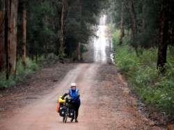 Get off and push..Fernhook Falls, Western Australia - Cycling Across Australia