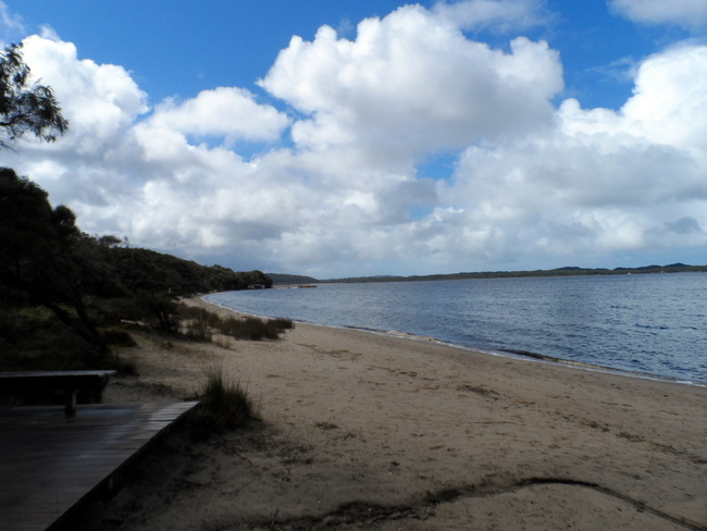 Coalmine Beach, Walpole, Western Australia - Cycling Across Australia