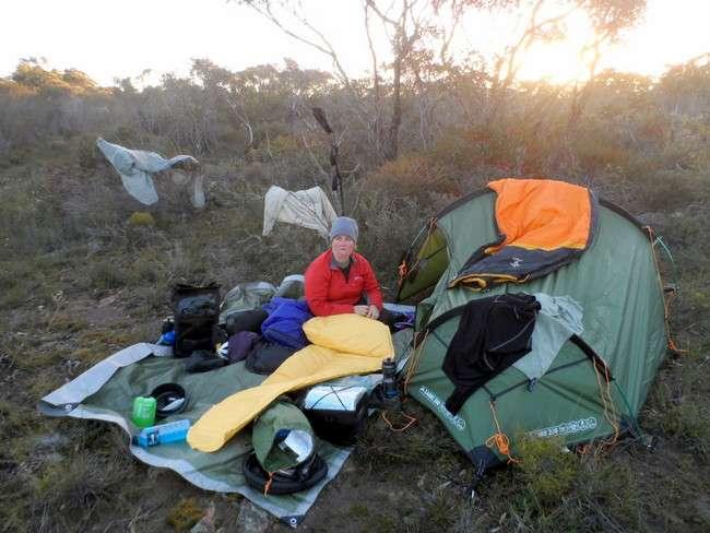 Making Bushcamping even tougher than it should be! - Cycling Across Australia