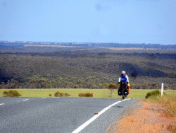 Out on the open road, Cycling Across Australia