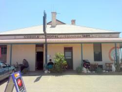 Historic Coburn Pub - Cockburn South Australia, Cycling Across Australia