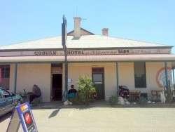 Historic Coburn Pub - Cockburn South Australia, Cycling Across Australia