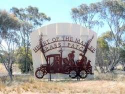 Grass Patch - Western Australia, Cycling Across Australia