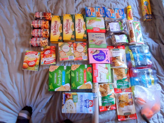Provisions for The Nullarbor - Cycling Across Australia