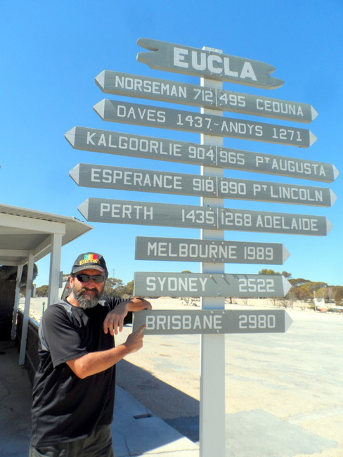 Still a long way to go- Cycling Across the Nullarbor, Australia