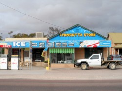 Kyancutta Store - Nice people, good Info - Cycling Across Australia