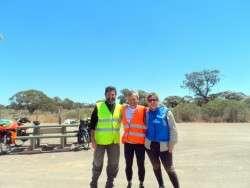 Ultramarathoner Patrick Malandain - Cycling Across Australia