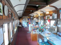 Old train carriage - Peterborough Tourist Information, South Australia - Cycling Across Australia