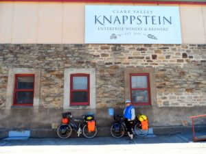 Knappstein Winery and Brewery - Clare, South Australia - Cycling Across Australia