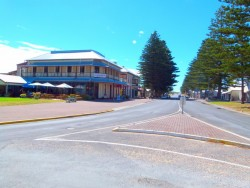 Main Street Beachport, South Australia- Cycling Across Australia