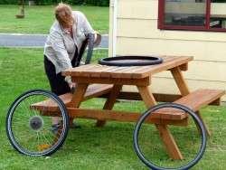 Fixing Tyres - AGAIN! - Cycling Across Australia