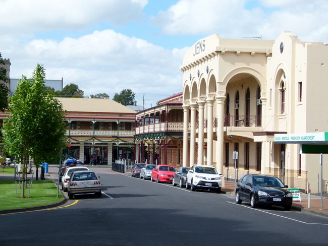 A Couple of the Pubs in Mt Gambier, South Australia - Cycling Across Australia