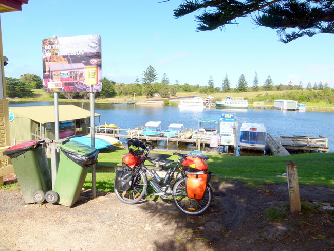 Inlet at Nelson, Victoria, Cycling Across Australia