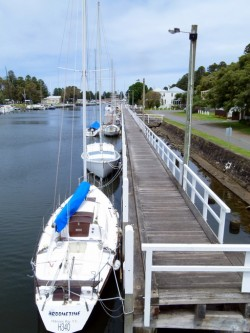 Yachts at Port Fairy, Victoria - Cycling Across Australia