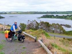 Lookout, Tower Hill, Victoria - Cycling Across Australia