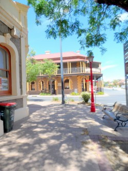 Main Street Kapunda - Cycling Across Australia