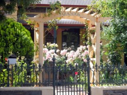 Cottage Garden, Tanunda - Barrossa Valley - Cycling Across Australia