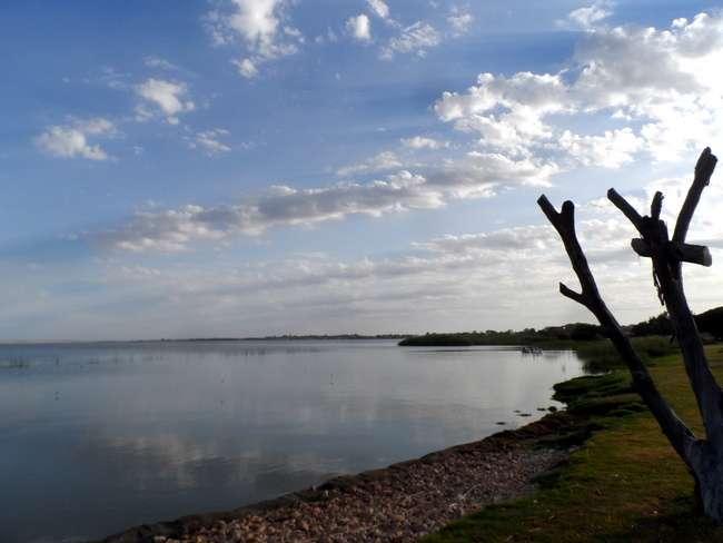 Late Evening over Lake Albert, Meningie- Cycling Across Australia