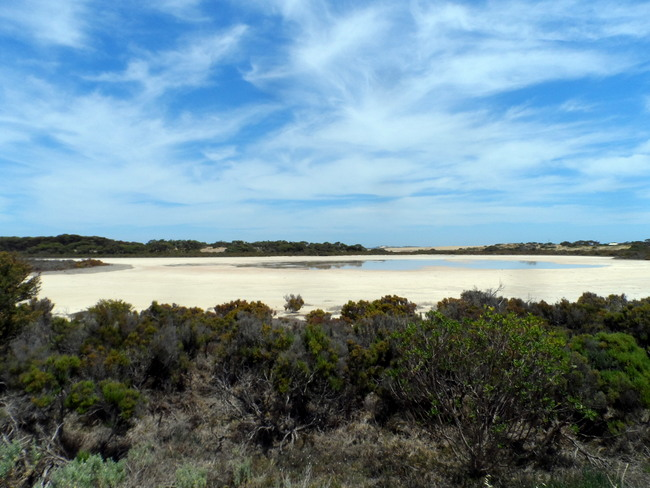 Views over The Coorong, South Australia - Cycling Across Australia