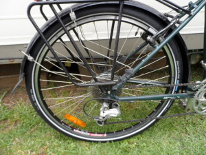 Mudguards and Great Tyres - Cycling Across Australia