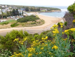 View of Port Campbell - Great Ocean Road, Victoria - cycling Across Australia