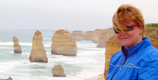 12 Apostles - Great Ocean Road, Victoria - cycling Across Australia