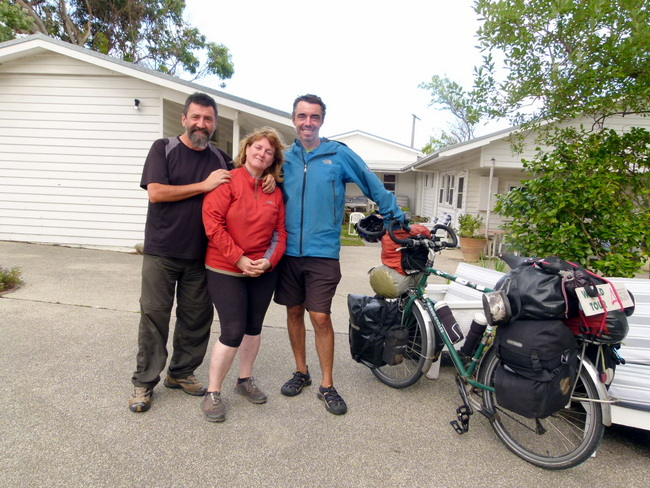 Meeting up with Jacques Sirat - Apollo Bay - Great Ocean Road, Victoria - Cycling Across Australia