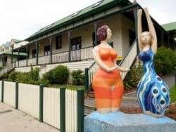 Street Art, Lorne - Great Ocean Road, Victoria - Cycling Across Australia