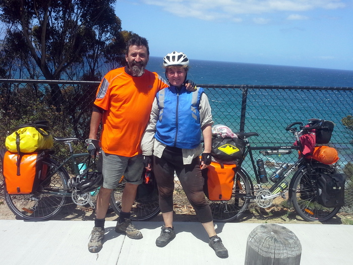 Crossing the Country - Indian to Pacific Ocean - Cycling Across Australia