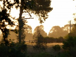 Sunset at Stratford, Victoria - Cycling Across Australia