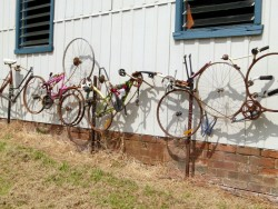 Bicycle Graveyard - Orbost, Victoria - Cycling Across Australia