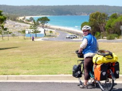 The Beach at Eden,NSW - Cycling Across Australia