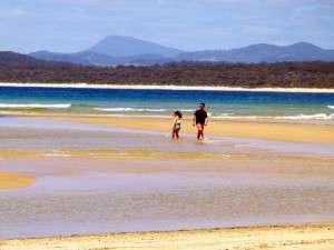Inlet Merimbula, NSW - Cycling Across Australia
