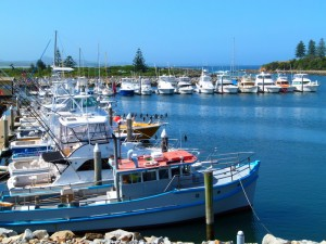 Marina at Bermagui, NSW - Cycling Across Australia