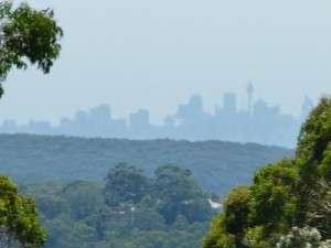 First Glimpse of Sydney - NSW - Cycling Across Australia