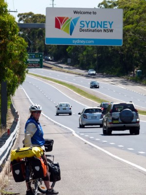 Outskirts of Sydney - NSW - Cycling Across Australia