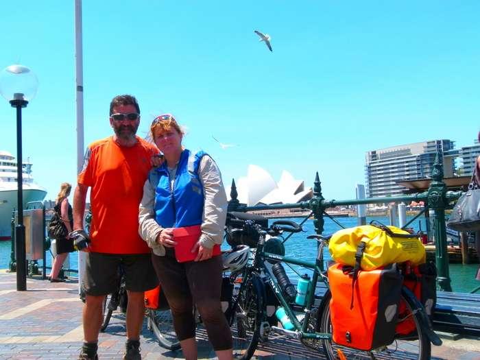 Circular Quay - Sydney, NSW - Cycling Across Australia