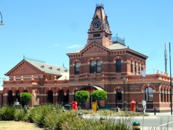 Traralgon Post Office, Victoria- Cycling Across Australia