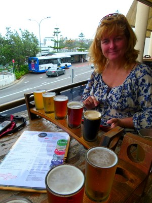 Four Pines Brewery - Manly, NSW - Cycling Across Australia